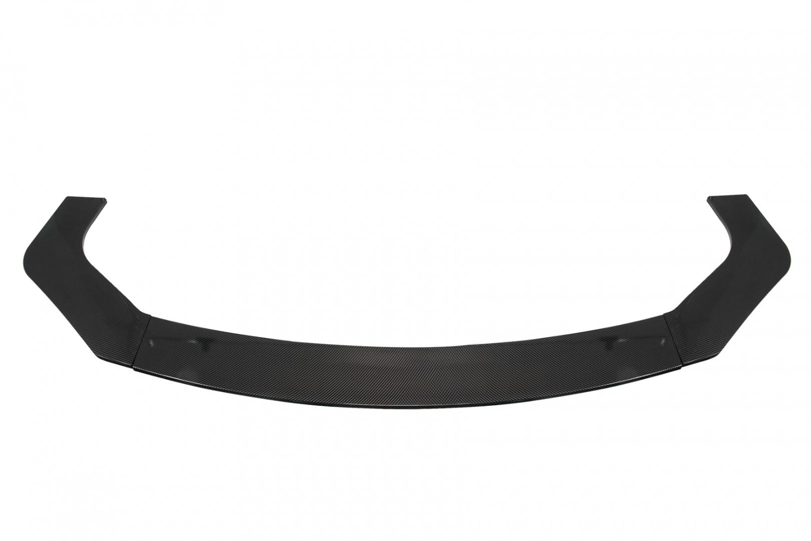 Uniwersalny splitter przedniego zderzaka 3 cz. Carbon Look - GRUBYGARAGE - Sklep Tuningowy